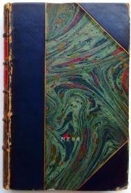 《克兰弗德》1923年豪华半小牛皮装本英国女作家Elizabeth Gaskell小说插画家休·汤姆生