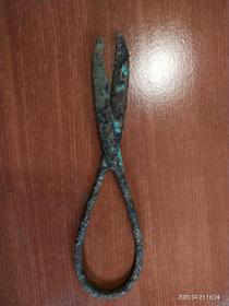 宋代青铜剪刀