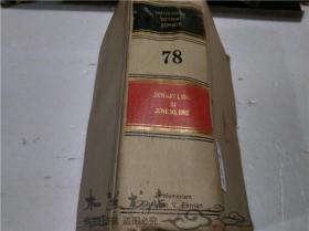 原版英法德意等外文 REPORTS OF THE UNITED STATES TAX COURT January 1,1982,to June 30,1982 Volume 78 小16开硬精装
