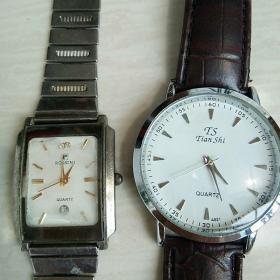 电子表2个(罗西尼白金表和天狮表,不走时,需修理)