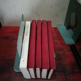 毛泽东选集(全五卷)红塑皮横排版,一版一印