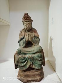 清代     木雕佛像