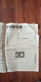 吉林邮电报 1996年全年  合订合售 1大本 4开