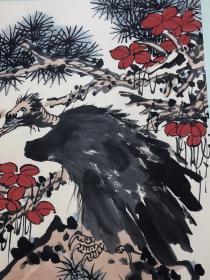 潘天寿画,潘天寿现代画家,教育家,浙江宁海人,字大颐自署阿寿,寿者,带有南方特殊的画工技巧与细腻。漂亮,洒脱是收藏与借鉴佳品