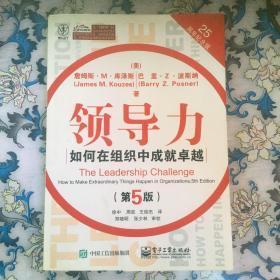 领导力:如何在组织中成就卓越(第5版)