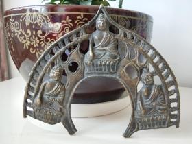 清代藏传佛教~佛像背光