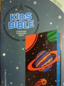 英文原版         Christian Standard Kids Bible     (皮精装,盒装版.内附8幅地图)
