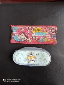 早期笔袋    两个合售