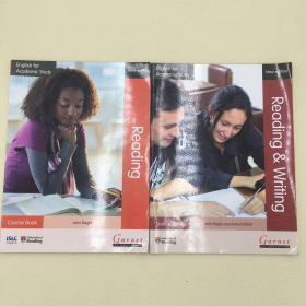 两本套装English for Academic Study Reading and Writing source book John Slaght and Anne Pallant English for Academic Study: Reading Course Book - 2012 Edition by John Slaght9781908614377  9781908614360
