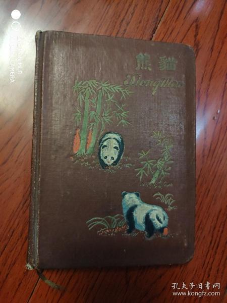 熊猫.笔记本有很多插图