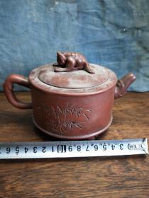乡下收来的老紫砂茶壶哪位喜欢便宜拿走沙不错