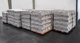 包邮 报纸批发 2.5元一斤 北京地区全新报纸 可以做快递填充材料,包装材料等