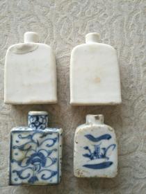 清末小瓷瓶