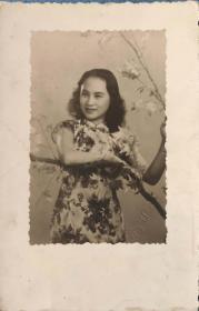 民国老上海美人电影明星陈燕燕老照片一件