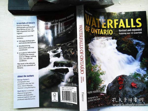 安大略省的瀑布 Waterfalls of Ontario 英文原版