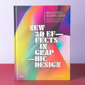 New 3D Effects in Graphic Design 躍然紙上 3D三維平面設計書籍