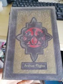 Arabian Nights 【天方夜谭】英文老版书上有黄斑,封面设计很精致