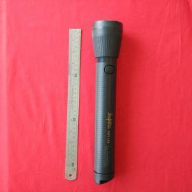 塑料电筒三节电池防水强光手电筒澳门生产收藏珍藏