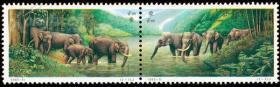 中泰建交二十周年(1套2枚)邮票