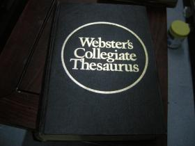 精装《Webster's Collegiate Thesaurus》韦氏大学词词典.