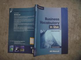 Business Vocabulary in Use Intermediate 【16开 品佳】