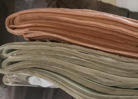 2种瓦当对联纸,烫金,《老宣纸》80张 131×32