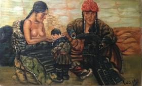 罗中立人物油画作品173