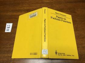 Papers on Fuchsian  Functions   数学大师庞加莱关于函数论方面的论文精选