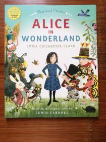 英文原版 爱丽丝梦游仙境 Alice in Wonderland 第一部改编绘本