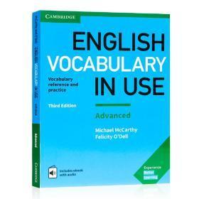 英文原版 剑桥英语词汇 高级 第三版 English Vocabulary in Use Advanced 带答案带电子书 自学工具书