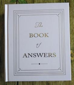 the book of answers 答案书 精装本