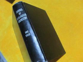 生物化学什志1933.101 (英文原版)【皮面精装】