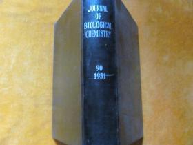 THE JOURNAL OF Biochemistry 1931.90 英文原版 【皮面精装】