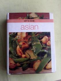 Lets Cook Asian     英文原版烹饪图书   铜版纸彩印