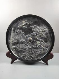 乡下收的汉代做工精致的青铜镜