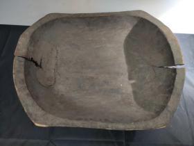 民国 大盆 古玩古董红色博物馆真品收藏