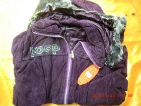 广州可怡时尚上衣外套女装,紫色 M160/84A,原价352,一等品