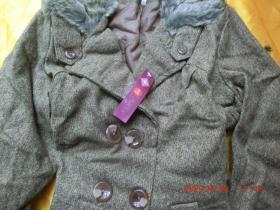 时尚上衣外套女装,麻色L165/88A,原价552,一等品
