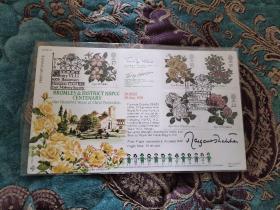 """【签名封】英国第一位女首相,""""铁娘子""""撒切尔夫人1991年7月16日亲笔签名纪念封,限量发行110封编号第96"""