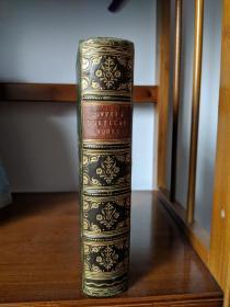 1874全摩洛哥牛皮考柏诗集 Poetical Works of William Cowper 奖品本