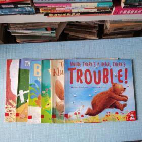 TR0UBLE!/PennyandPup/BAA!MOO!/THEGREATGOATCHASE/YOureTooSmall/ldontwanttogotobed/TheNuffuNufChase/共7本合售