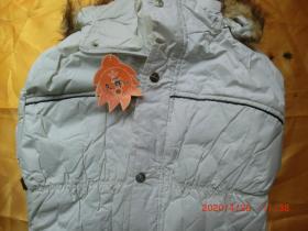 文辉服饰时尚外套女装,白色 XXL 170/92A,原价338,一等品