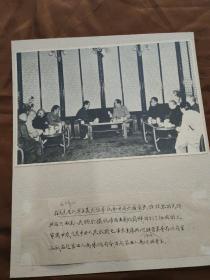 毛主席和阿沛阿旺晋美