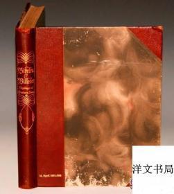 【包邮】Gustave Dore_BIBLE IN PICTURES《多雷圣经版画全集》3/4真皮精装 211桢多雷木刻版画插图 开本超大 1914年出版
