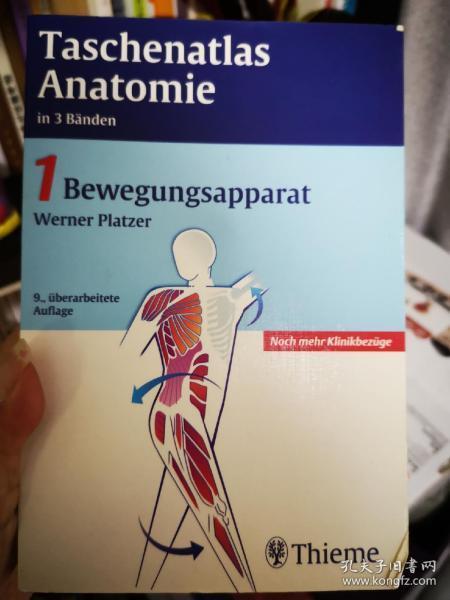 taschenatlas anatomie 1