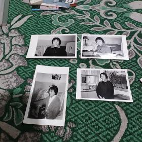 女士照片4张合售