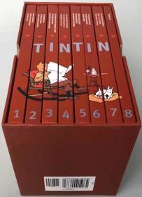 丁丁历险记Tintin Collection The Adventures of Tintin 精装8本