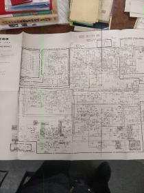 北京牌 837-1型 电视机 原理图 一份