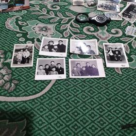 六十年代家庭照片6张合售