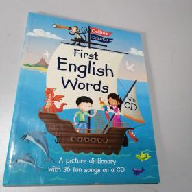 Collins First - Collins First English Words,有光盘一张